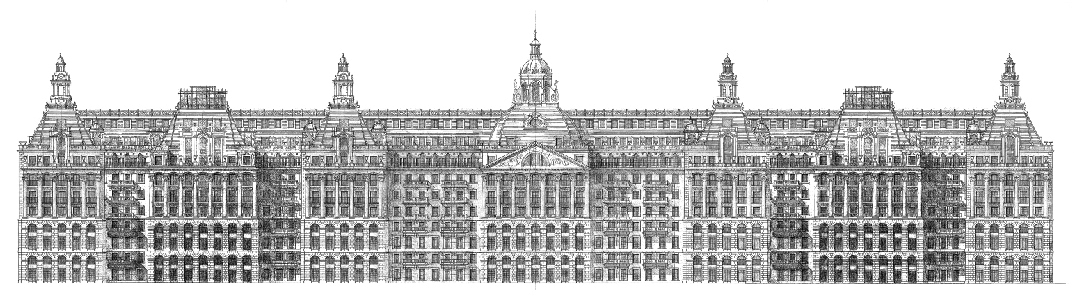 Hyde Park Barracks - Elevation